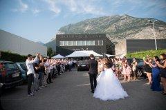DJ-SF Haie d'honneur des mariés