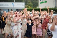 DJ-SF les célibataires en place, pour le lancé du Bouquet de la mariés